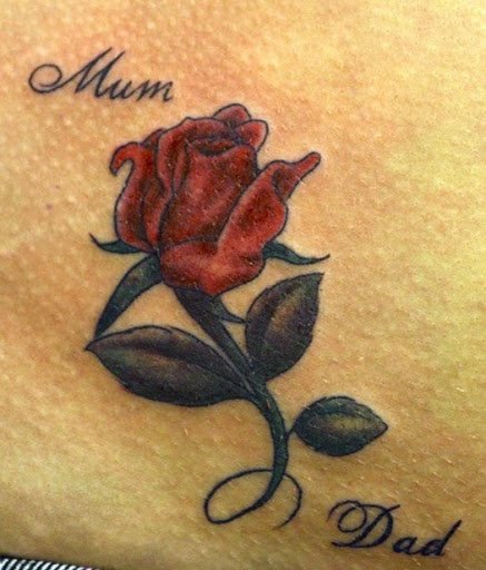 Double Rose Tattoo Designs