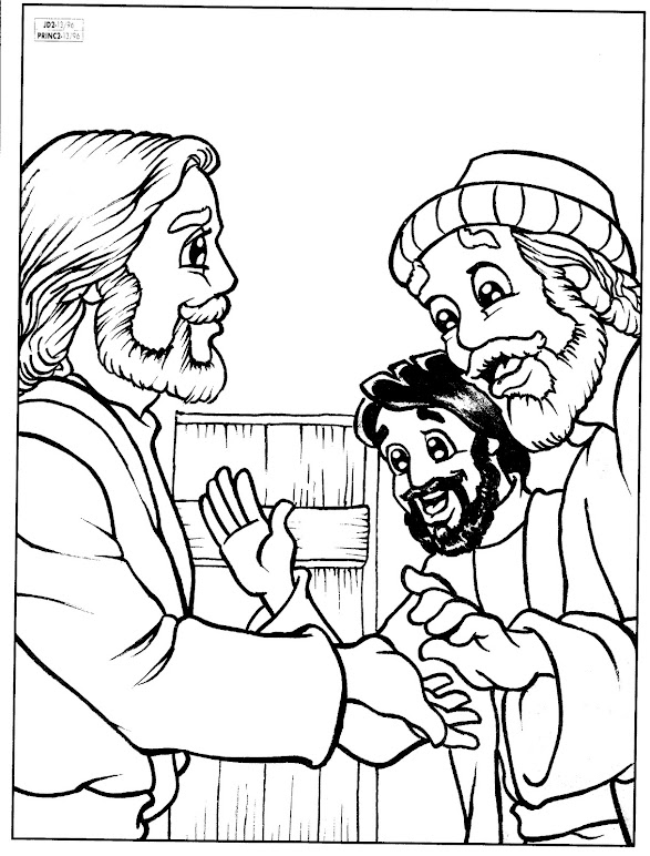 1000+ images about New Testament worksheets/color pages on