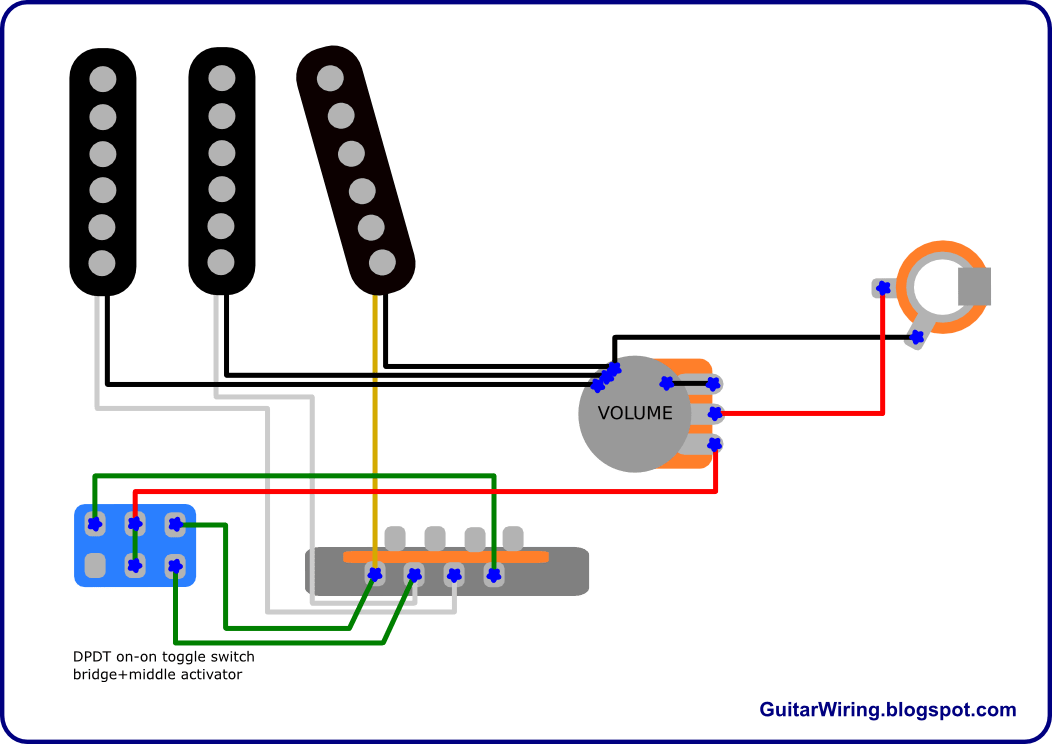 Archtop Guitar Wiring Diagrams