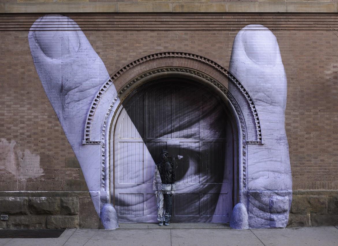 *貨真價實的隱形人:中國藝術家劉勃麟(Liu Bolin)隱形系列攝影作品! 15