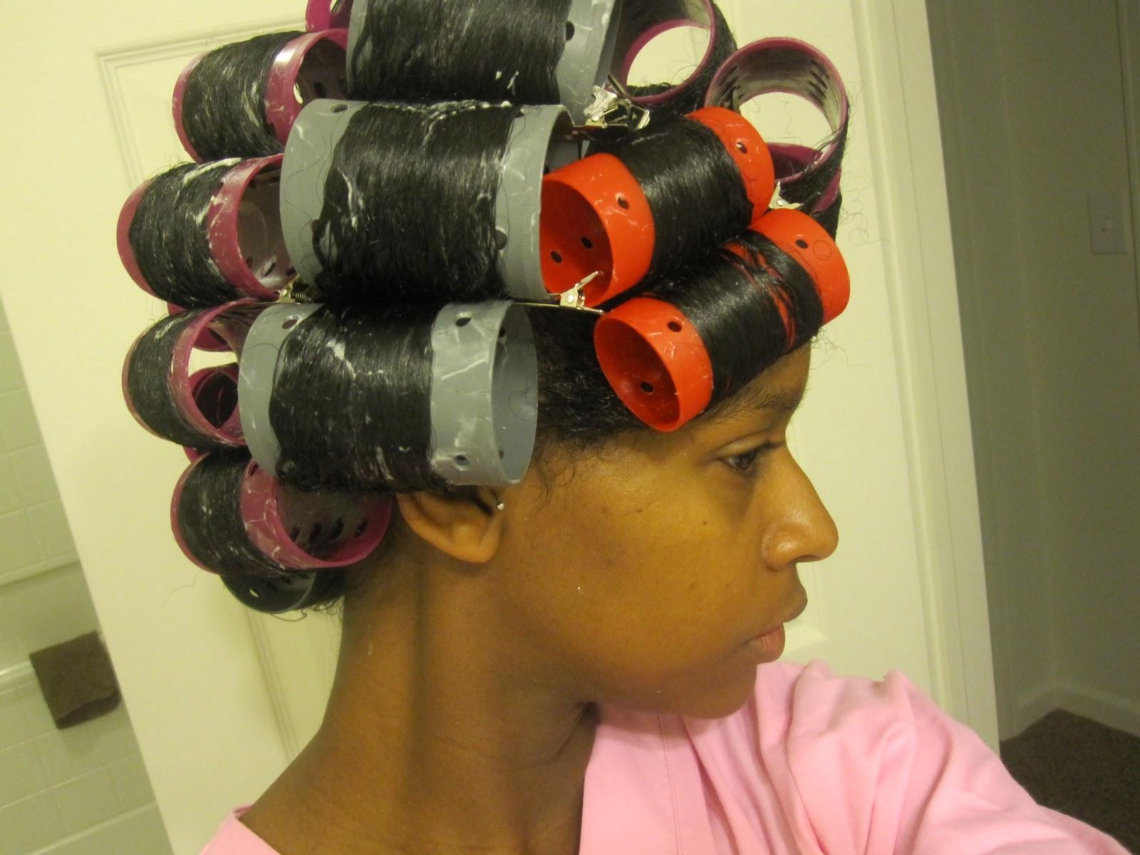 MahoganyCurls' Natural Hair Roller Set - Strawberricurls