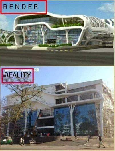 Render Vs Reality