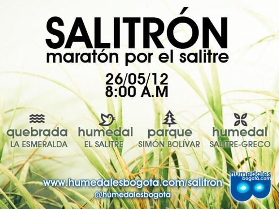 Caminata ecológica por El Salitre en Bogotá