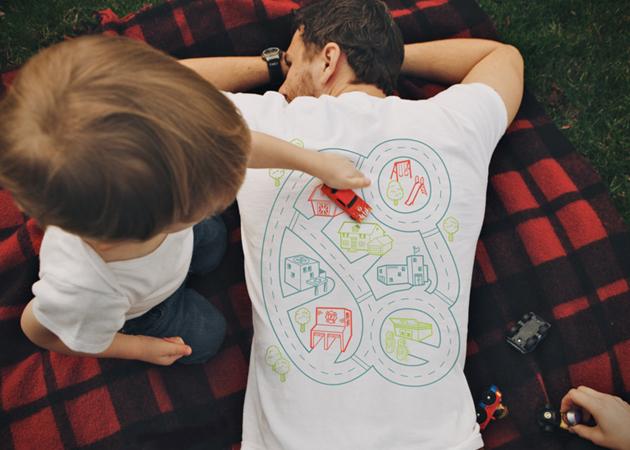 *增進親子關係:Car Play Mat T Shirt 讓你就算累趴也能和小孩玩在一起! 2