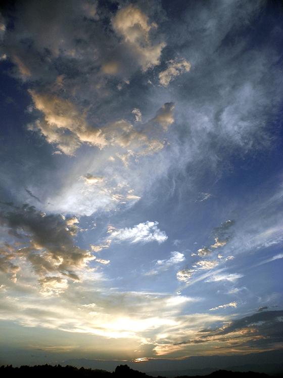 Céu com nuvens de Mike Perrenoud