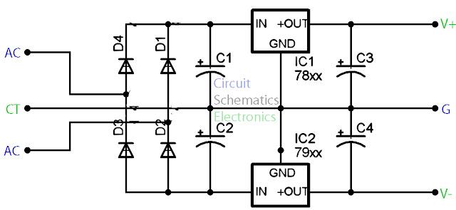 7812 voltage stabilizer