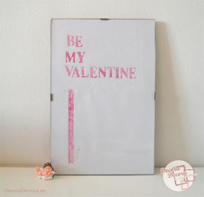 Idea 2 para decorar en San Valentín