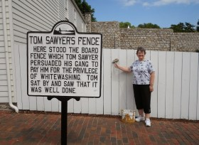 tom sawyer fence