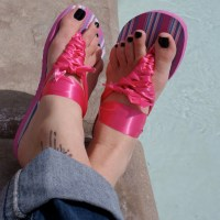 Make your own Ribbon sandals
