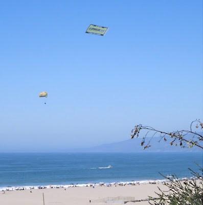 In the sky over Santa Monica, 9/2/2012