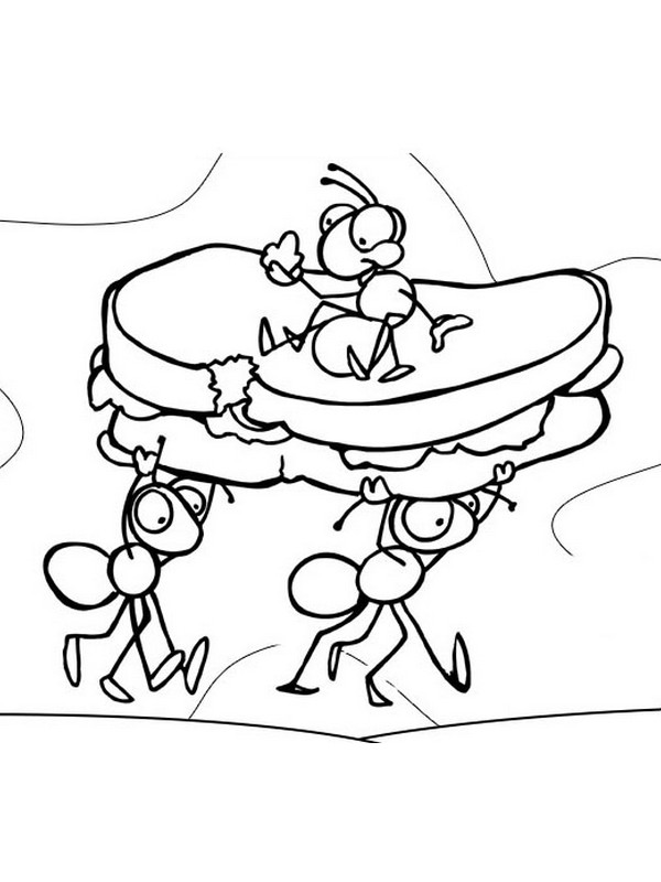 Hey Little Ant Coloring Page Az Pages Sketch Coloring Page