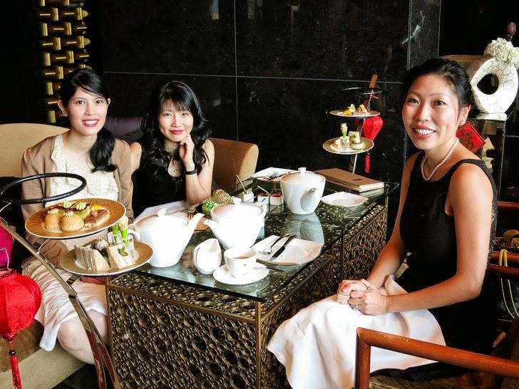 High Tea Mandarin Oriental Tea Lounge.