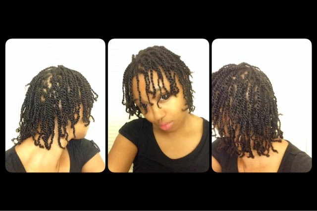 Desire My Natural Natural Hair Tutorial Mini Twists On Fine