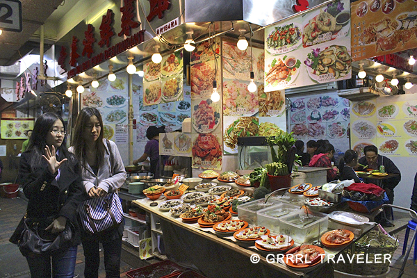 hong kong temple night market, hong kong attractions, hong kong sightseeing, hong kong restaurants, hong kong foods