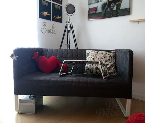 KNOPPARP, sofá de IKEA.