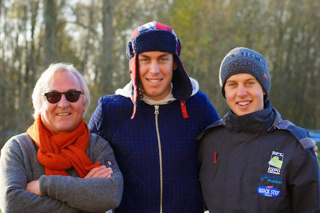 Rein Van Waeyenberghe met Jelle Walleys en Jens Wallays