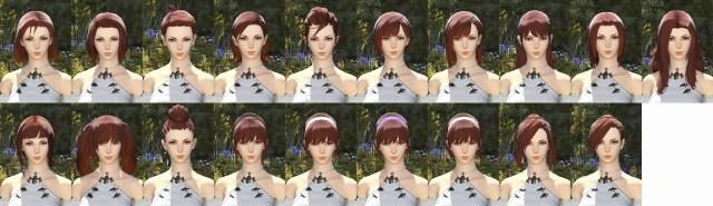 Hyuar Female Hair