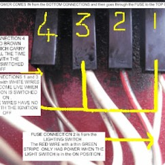 4y Electronic Distributor Wiring Diagram Vw Sharan Stereo Fifers Reliant Hints Tips Fusebox Showing Bottom Connections