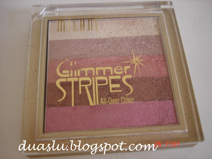 Glimmer Stripes da Milani: resenha