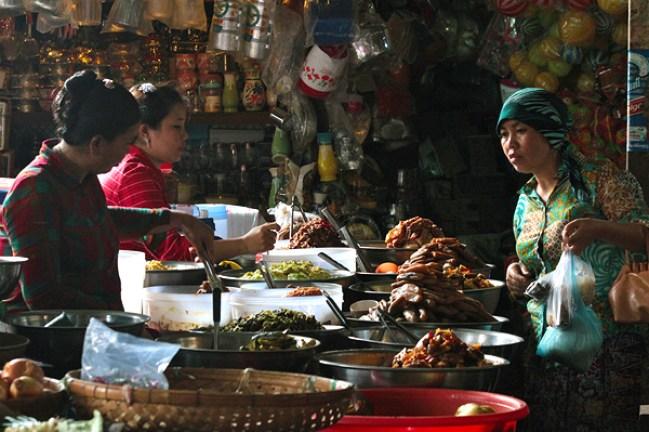 khmer food seller