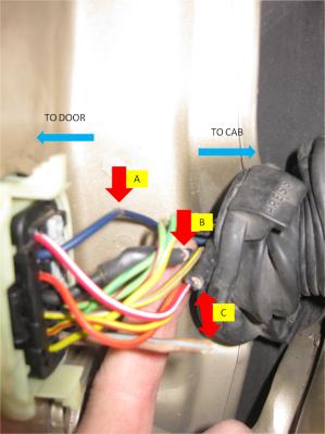 19992004 WJ Driver Door Boot Wiring Fix (DIY)  JeepForum