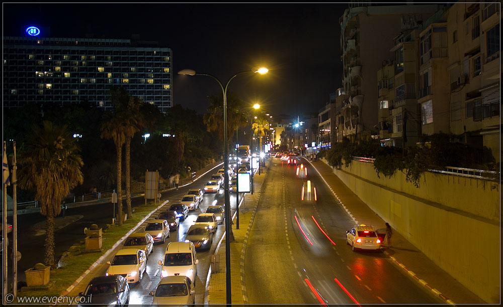 Тель Авив, ха-Яркон | Tel Aviv, ha-Yarkon street | תל אביב, רחוב הירקון