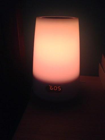 Philips Hf3470 Wake-up Light, low