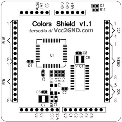 Dc Motor Shield Arduino Microcontroller Motor Shield