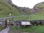 The Winnats Pass Near Castleton