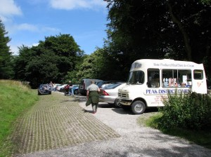 Back at car park ... with Ice Cream Van ... mmm