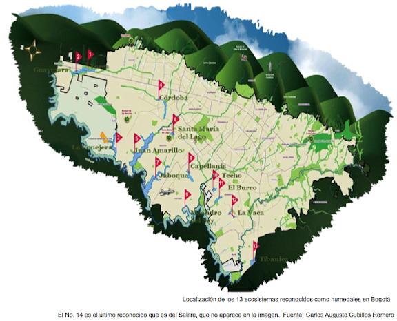 Humedales de Bogotá reconocidos
