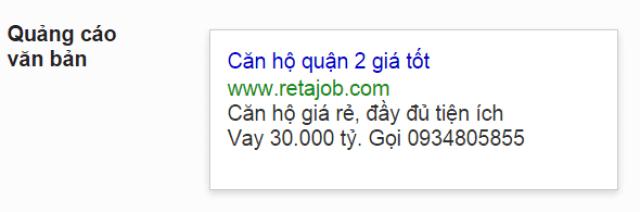 Quảng cáo Google Adwords 08