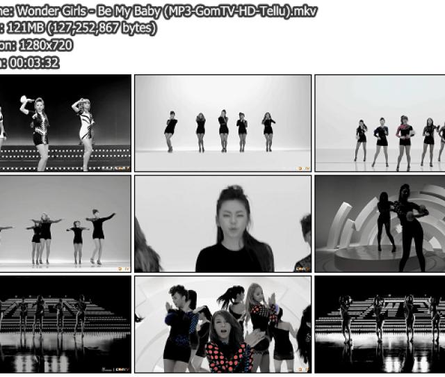 Download Music Video File Mv Wonder Girls Be My Baby Gomtv P X Mb Hosted Mediafire Multiupload Rapidshare Megaupload