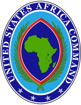 The Emblem of the United States Africa Command (AFRICOM)