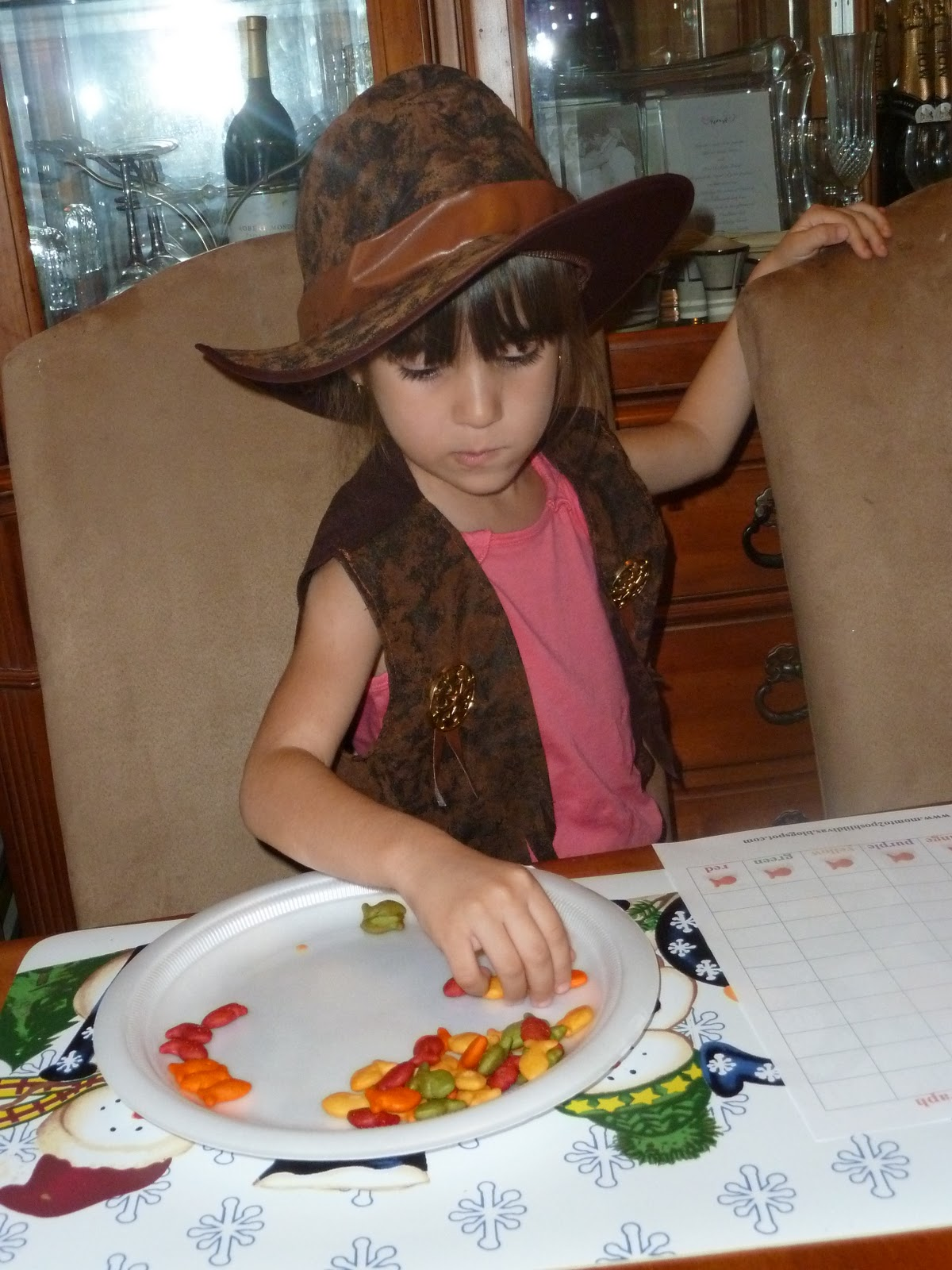 Step 1 Sort The Goldfish By Color Don T You Just Love The Dreesed Up Diva Cowgirl Lol
