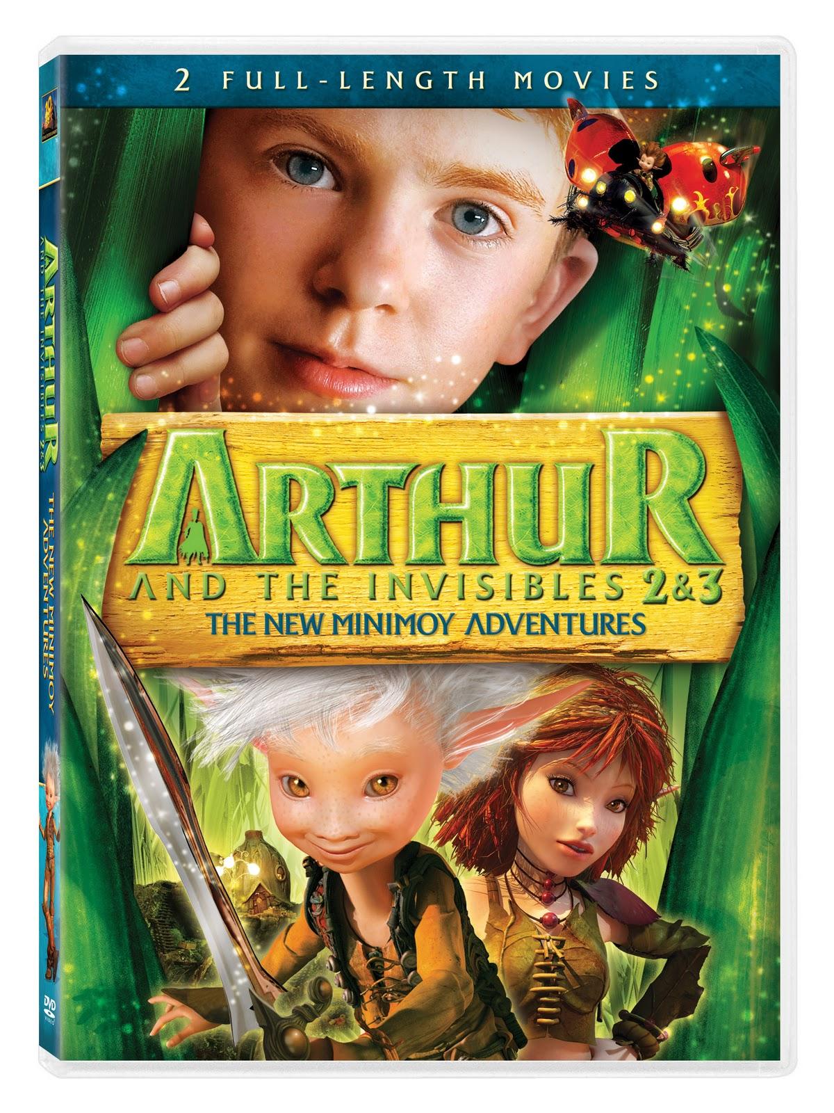 Arthure Et Les Minimoys 3 : arthure, minimoys, Trying, Calm!:, Arthur, Invisibles, Minimoy, Adventures, Giveaway...