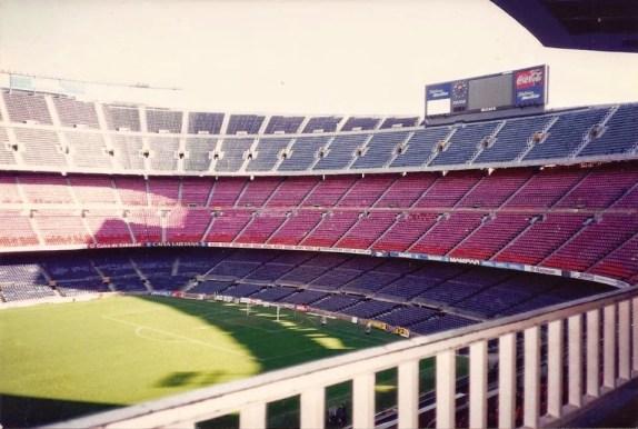 Barcelona. Camp Nou