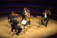 El Tchaikovsky Fest inauguró el 20 de febrero con un recital de música de cámara. Al Cuarteto de Cuerdas Simón Bolívar le tocó ejecutar, durante la primera parte del recital, la obra Cuarteto de cuerdas nº 1 en re mayor, Op. 11