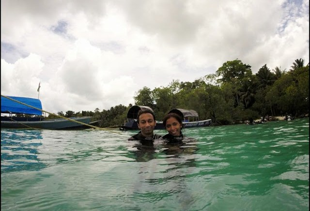 scuba diving havelock honeymoon