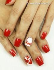 nail art love simply rins
