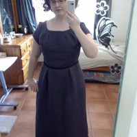 Downton Abbey-ish dress or: McCalls 5466
