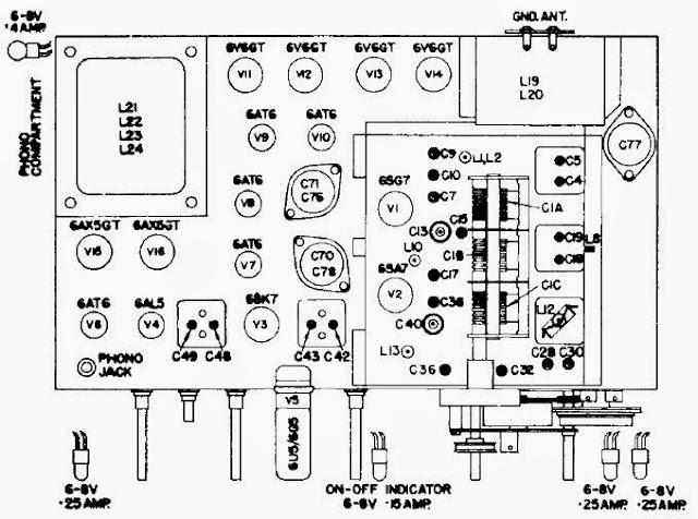 1954 Philips 778-2 Canadian Antique Radio Repair