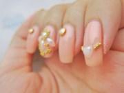 chandelier nail art - born pretty