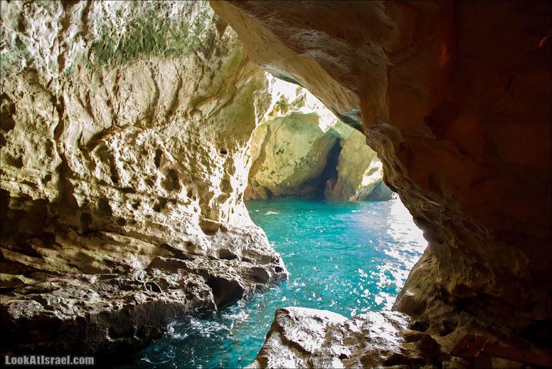Рош а-Никра - История любви скалы и моря