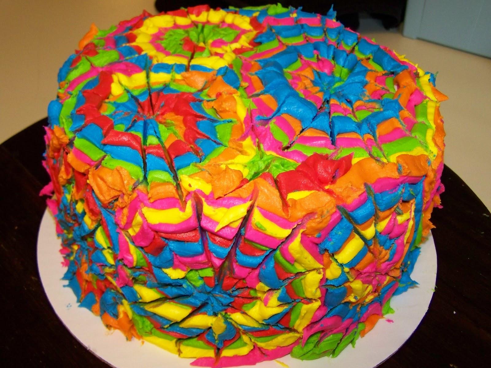Cakes By Kristen H Groovy Tie Dye Cake