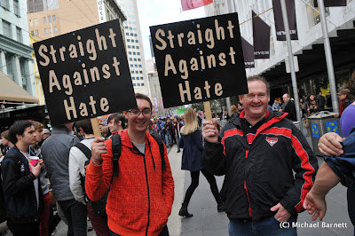 Straights against hate