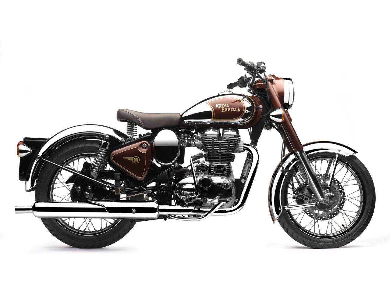 Cafe Racer Special: Royal Enfield Bullet Classic Chrome 500