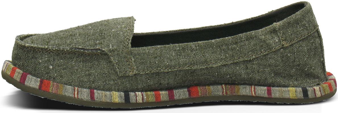 *Sanuk自然簡約風潮:SHORTY WRAPPED帆布懶人鞋! 4