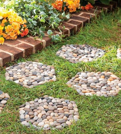 Idea para hacer un paso de jardín