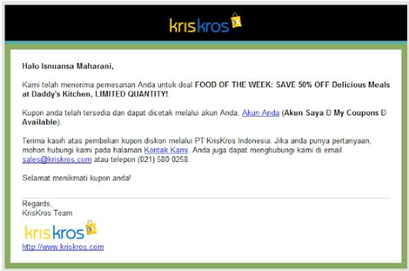 Deal Special Dari KrisKros.Com